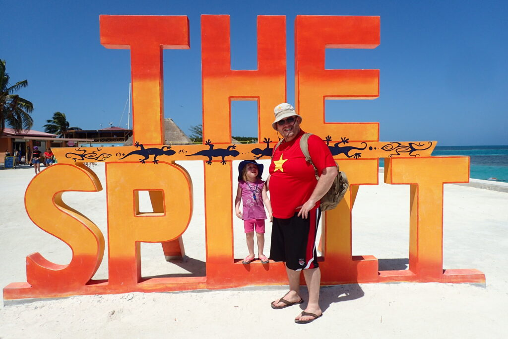 FIRE Travel Family - Belize - The Split - Kyra & Brock - Financial Independence - Retire Early