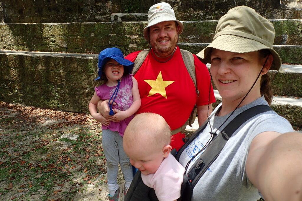 FIRE Travel Family - Brock, Becky, Kyra & Verity Waterman