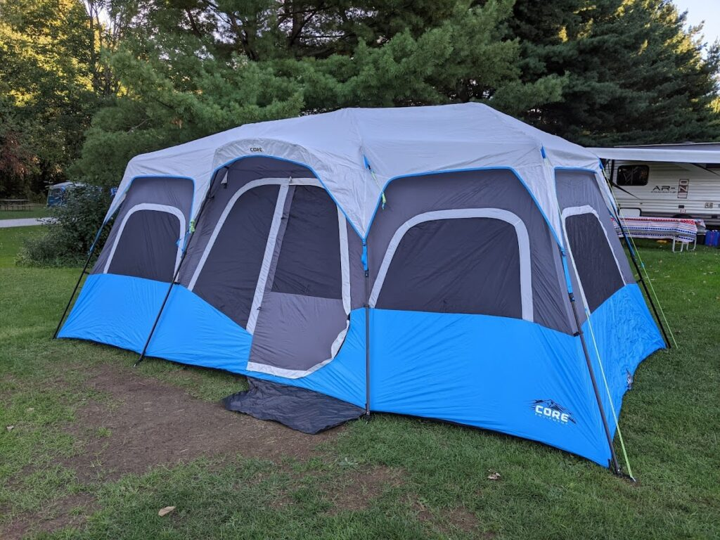 FIRE Travel Family - Ohio - Tent Setup First Time - Financial Independence - Retire Early